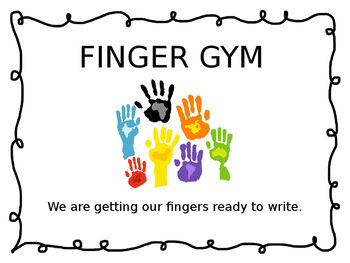 Finger Gym for Little Hands