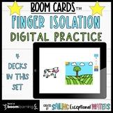 Finger Isolation Boom Card™ Set