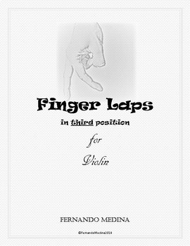 Finger Laps in third position for violin