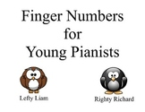 Finger Numbers for Young Pianists