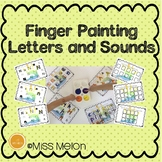 Finger Painting Letters and Sounds