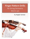 Finger Pattern Drills for String Orchestra Warm-ups