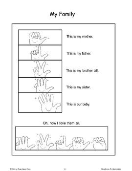 Finger Plays (Motor Skills)