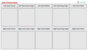 Finger Printing Activity
