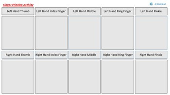 Finger Printing Activity