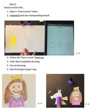 Finger Puppet Art Lesson