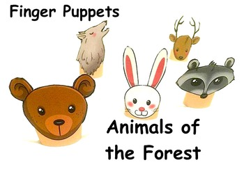 Finger Puppets: Animals of the Forest