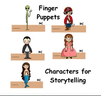 Finger Puppets: Characters for Stories