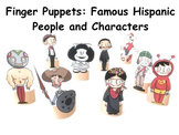 Finger Puppets: Famous Characters of the Spanish Speaking World