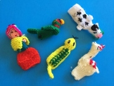 Finger Puppets From Peru (Set of 5)