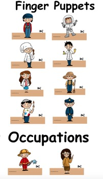Finger Puppets: Occupations