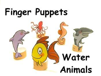 Finger Puppets: Ocean Animals