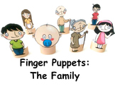 Finger Puppets: The Family