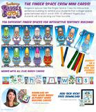 Finger Space Crew Mini Cards