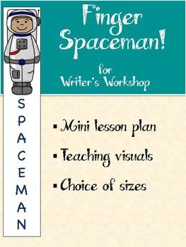 Finger Spaceman Writing Tool
