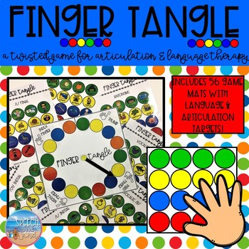 Finger Tangle for Articulation & Language