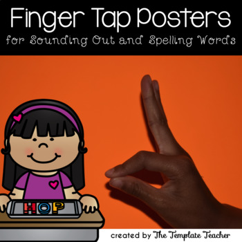 Finger Tap posters FREEBIE for sounding out