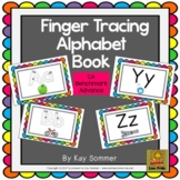 Finger Tracing Alphabet Book {Benchmark Advance}