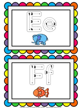 Finger Tracing Alphabet Book - Frieze Pictures {Benchmark Advance}