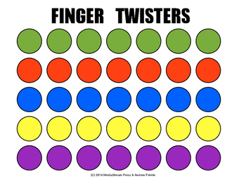picture regarding Finger Twister Printable referred to as Finger Twister Worksheets Schooling Supplies TpT
