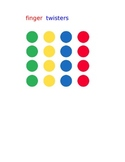 Finger Twisters Game for Math and Literacy