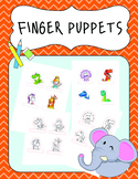 Finger puppets: Fantasy Animals and Dinosaurs