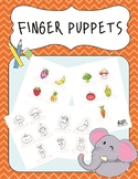 Finger puppets: Fruit & Vegetable Puppets for Story Creati