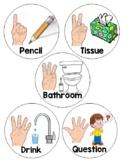 Finger symbol signs