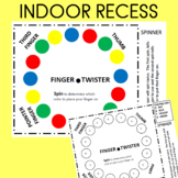 Finger Twister  Great for Indoor Recess