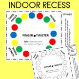 Finger Twister  Great for Indoor Recess