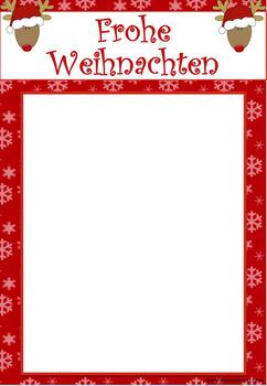 Fingerabdruck Weihnachtskarte Rentier