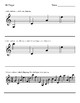 Fingering Worksheets (Violin)