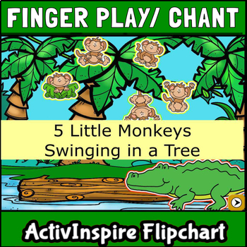 Five Little Monkeys Worksheet | Teachers Pay Teachers