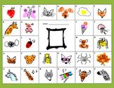 Fingerprint Alphabet - Kindergarten, 1st, 2nd FUN ART lett
