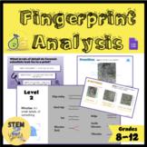 Fingerprint Analysis NO PREP Lesson (PearDeck G-Slides & E