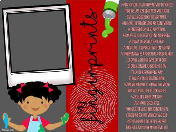 Fingerprint Calendar {Editable}