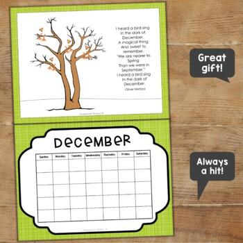 Fingerprint Calendar Sample
