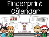 Fingerprint Calendars 2018-2019