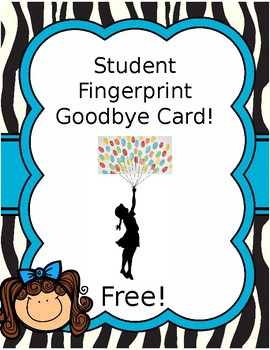 Fingerprint Card-Editable!
