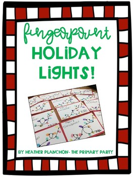 Fingerprint Holiday Lights