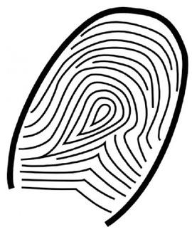 Fingerprint Design- First Week of School Activity