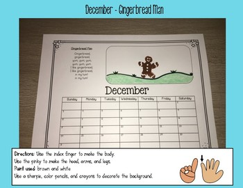 Fingerprint Calendar Bundle