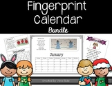 Fingerprint Calendar Bundle 2019-2020
