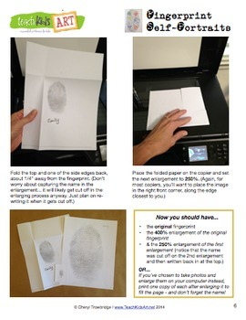 Fingerprint Self-Portraits