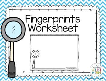 Fingerprint Worksheet