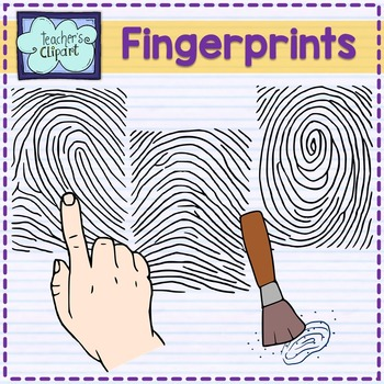 Fingerprints Clip Art