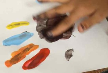 Fingerprints Fly: A Finger Painting Activity Song to Calm Your Class