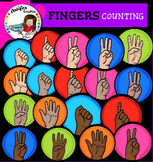 Fingers Counting Clip Art clip art