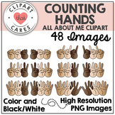 Counting Hands Clipart by Clipart that Cares