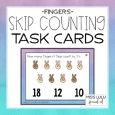 Fingers Skip Counting Task Cards